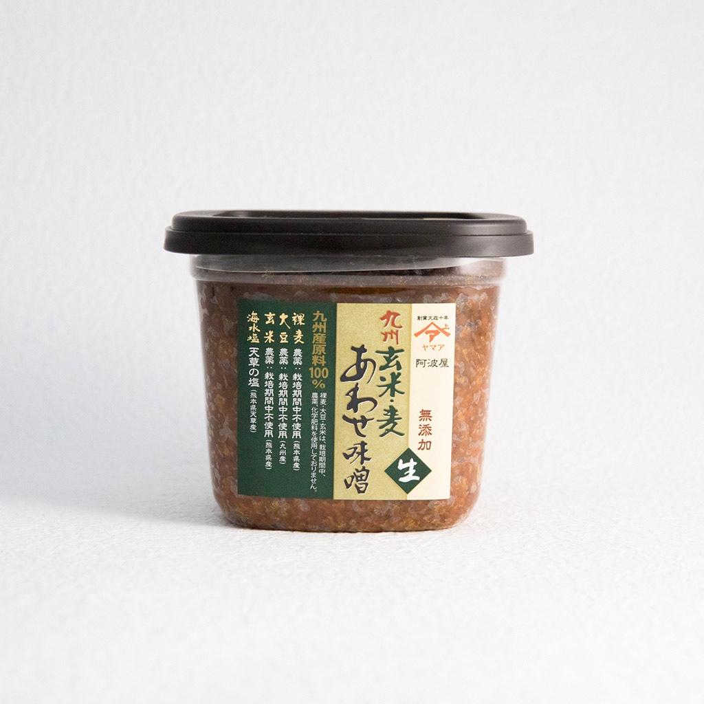 松合食品 九州玄米・麦あわせ味噌
