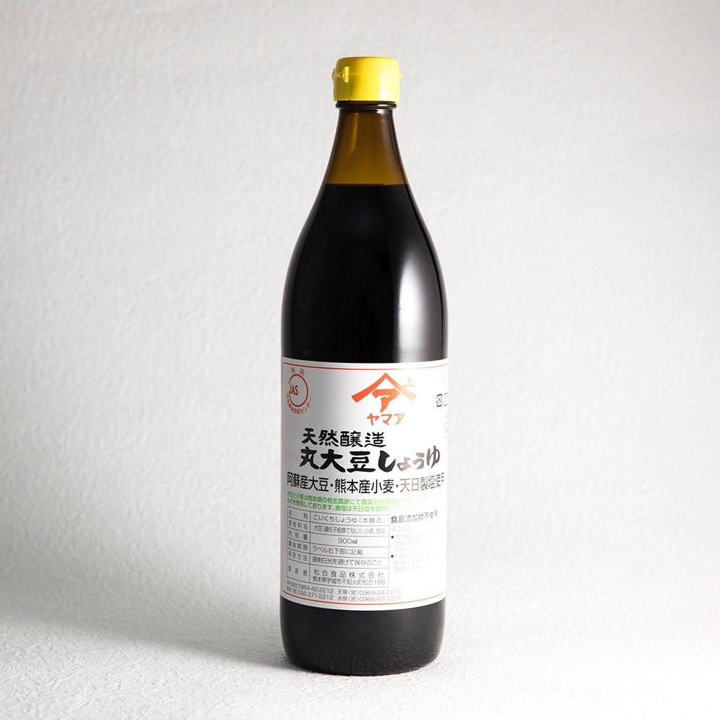オススメ無添加調味料 ④『松合食品 天然醸造 丸大豆しょうゆ(赤ラベル)』